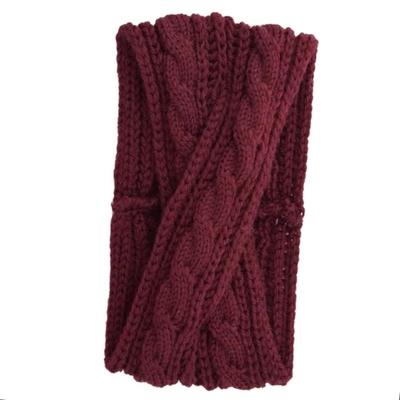 网红针织发带,毛线发箍458