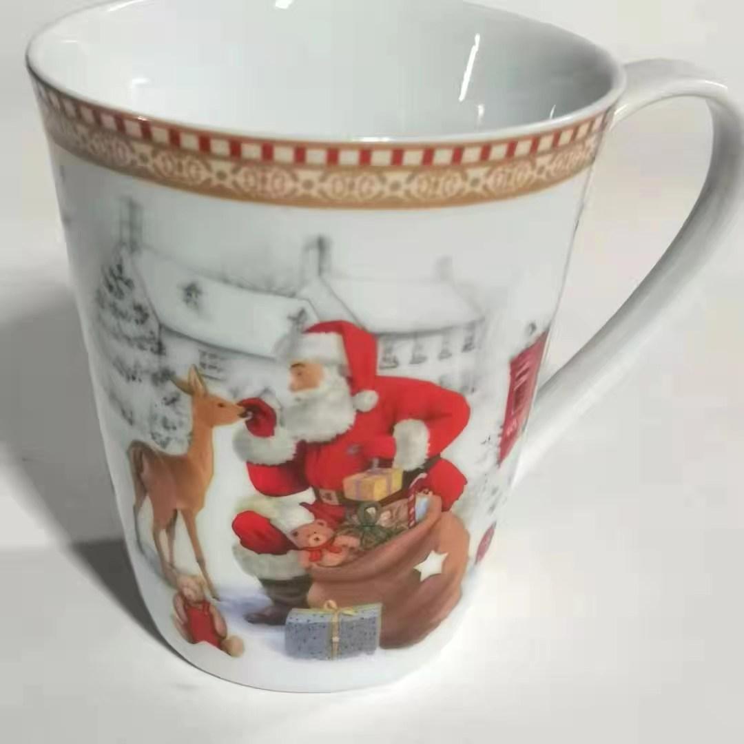 圣诞老人杯子陶瓷杯子3