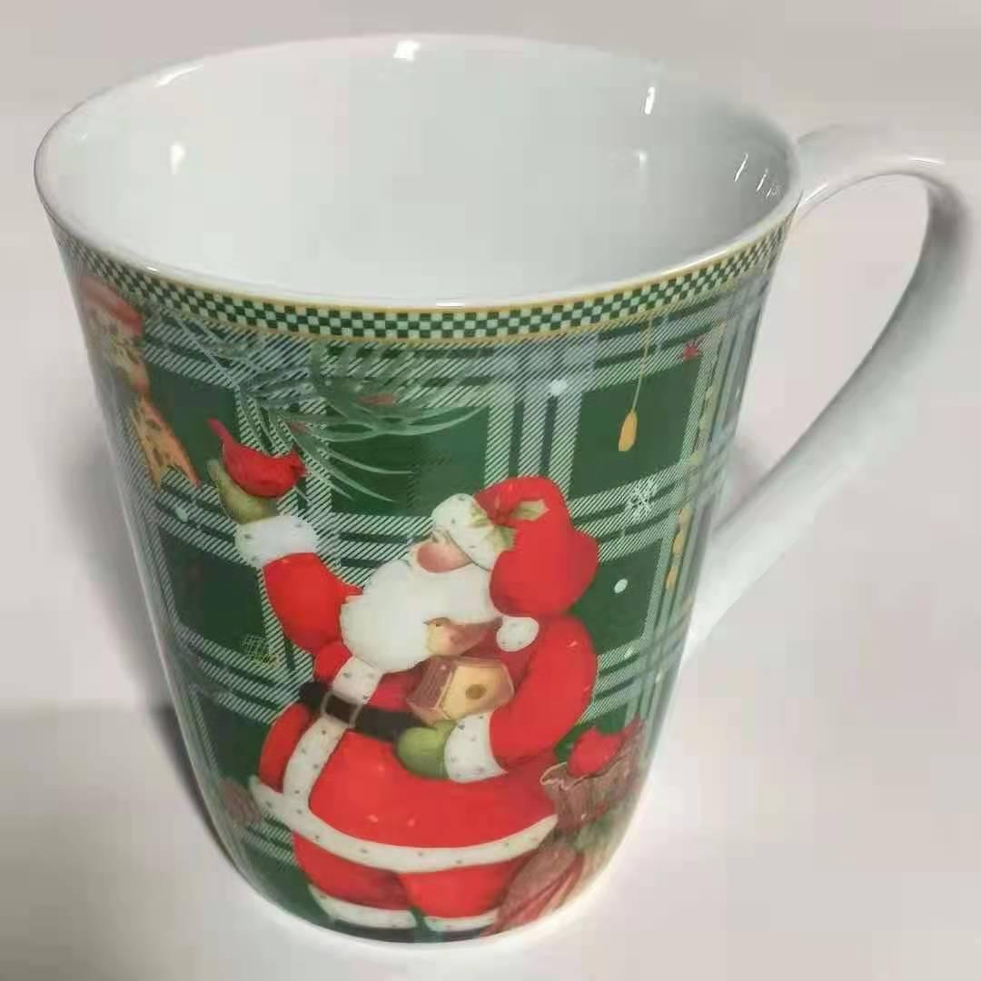 圣诞老人杯子陶瓷杯子1