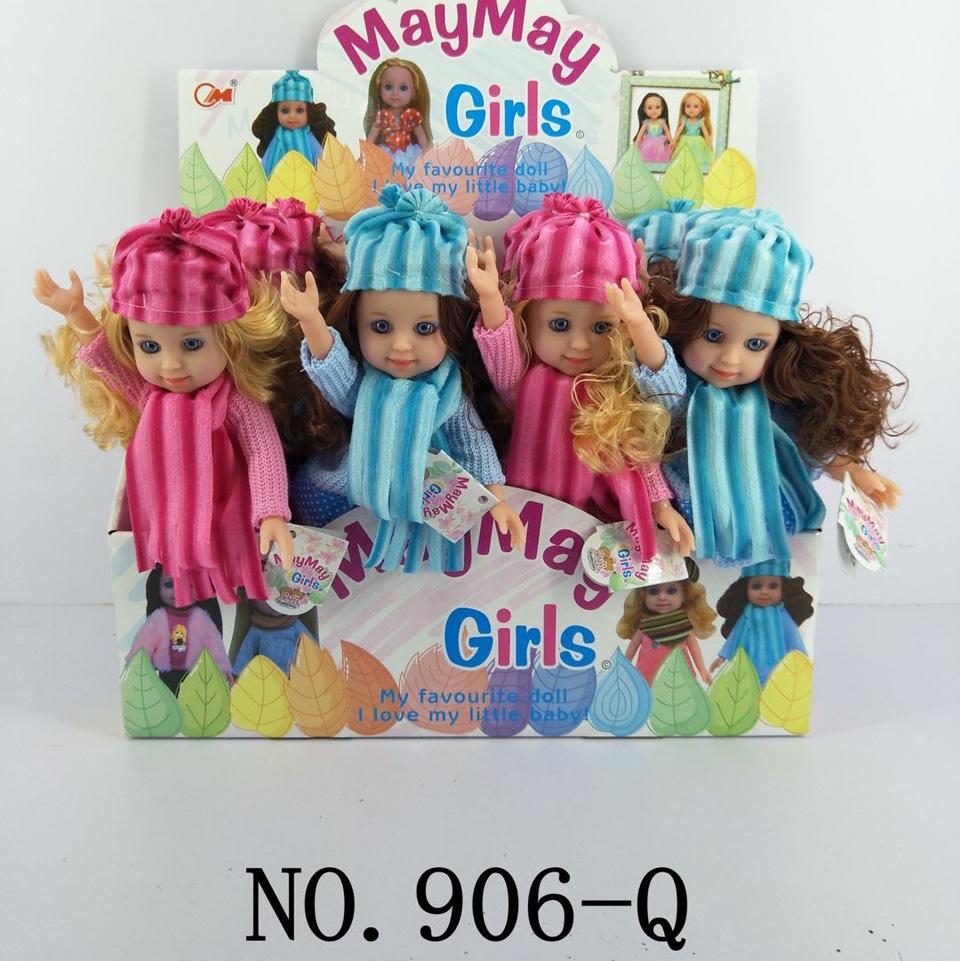 906-Q搪胶娃娃