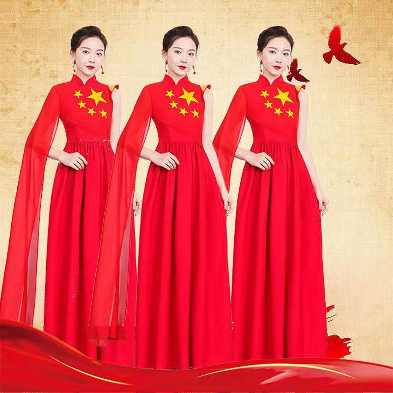 2021年100周年礼服、合唱服。