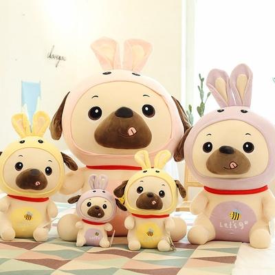 可爱兔子狗16