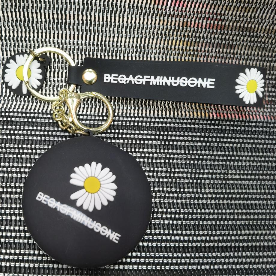 0260硅胶钥匙扣镜子
