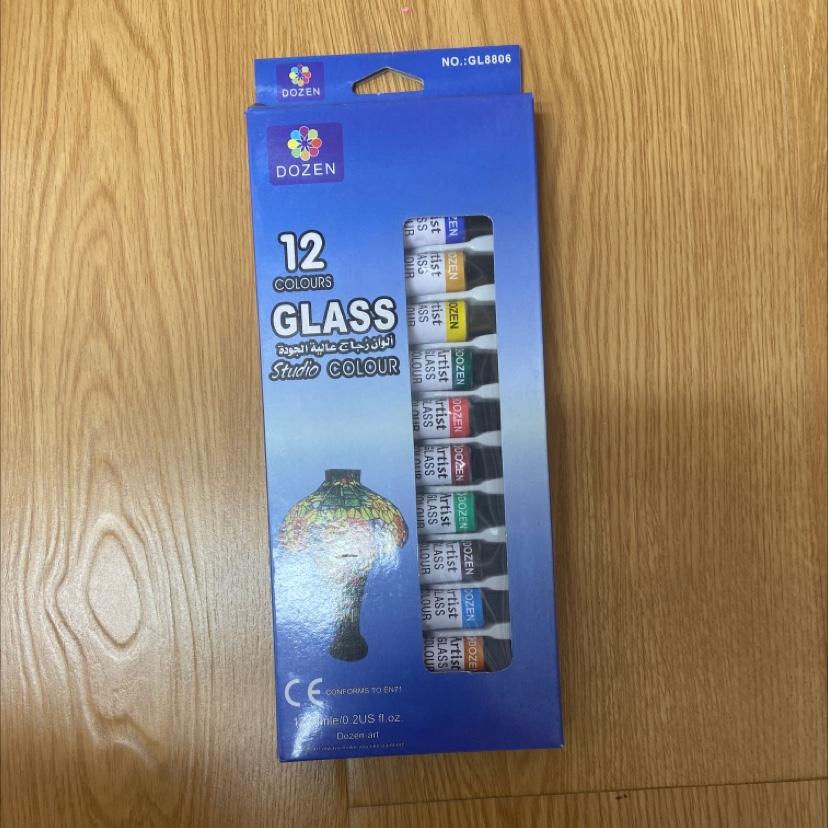 6ml玻璃颜料