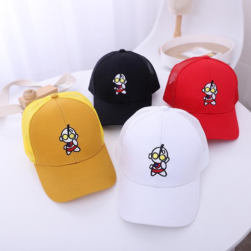 儿童帽子遮阳帽嘻哈帽子棒球帽时尚帽潮100