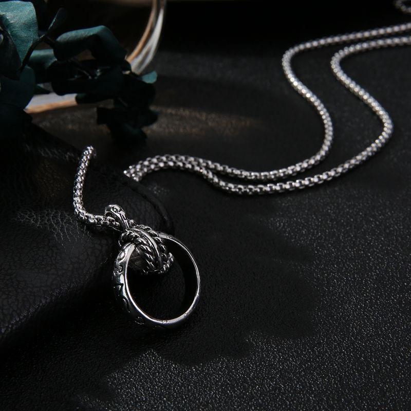 2021新款 2153韩版钛钢项链 男女皆可佩戴 天然 甜酷都可 潮流时尚 小众设计 款式个性时尚大方 工厂直销