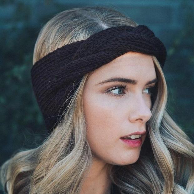 针织毛线发带,发箍,时尚帽子600