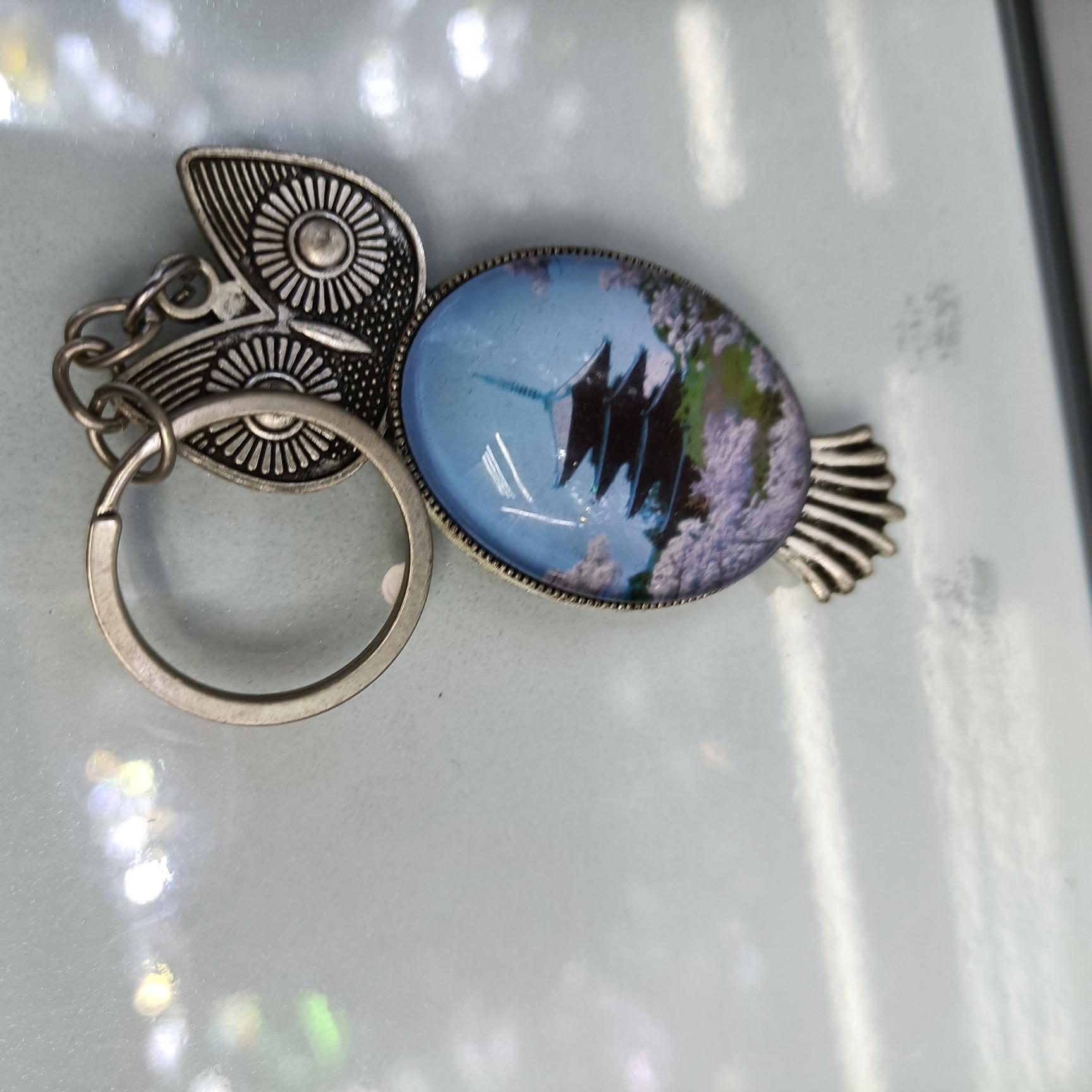 水晶钥匙扣0100