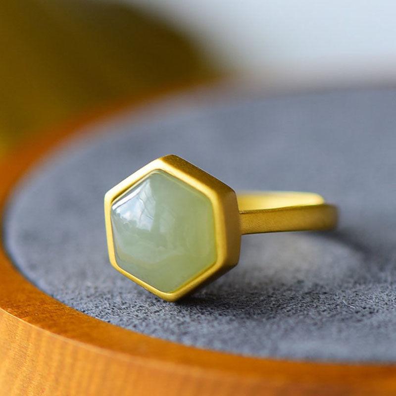 2021日韩新款几何夸张个性钻锆石戒指树脂戒指    13
