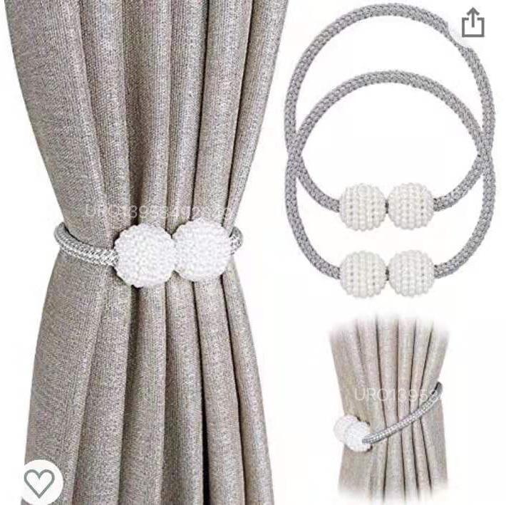 Decorative Magnetic Curtain Buckle ball,curtain ti
