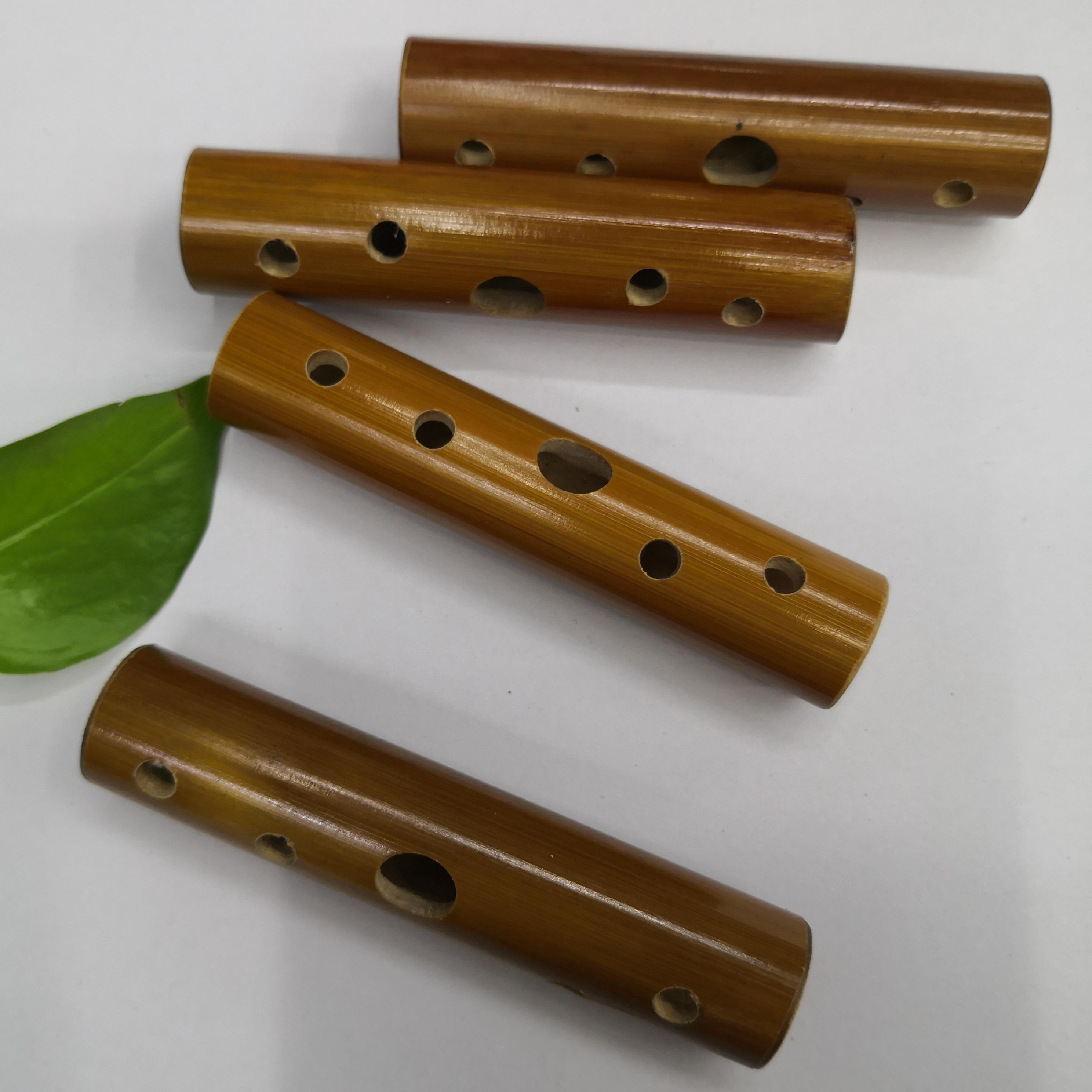 乐器五孔迷你口笛小竹笛