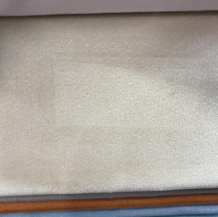 纯色荷兰绒布料 丽丝绒面料天鹅绒布料沙发抱枕布料 服装服饰 米色3