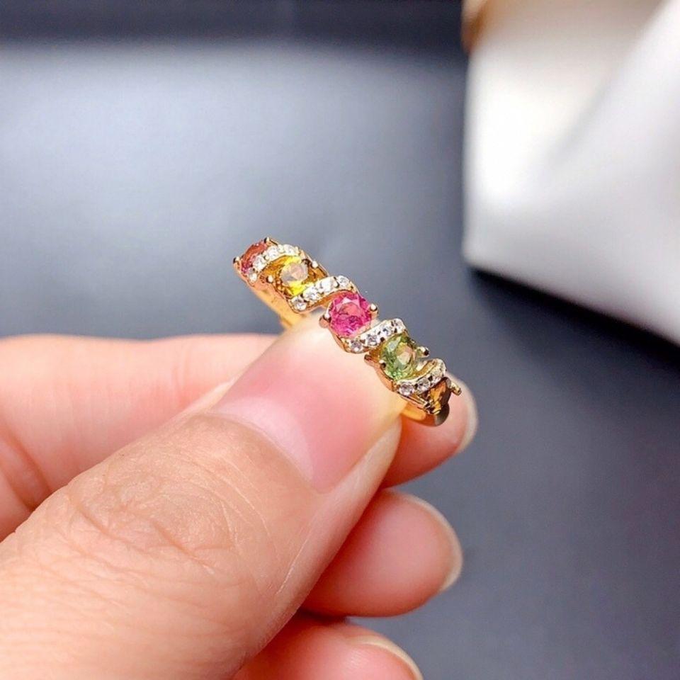 2021个性夸张几何流行饰品  锆石戒指  水钻戒指    40
