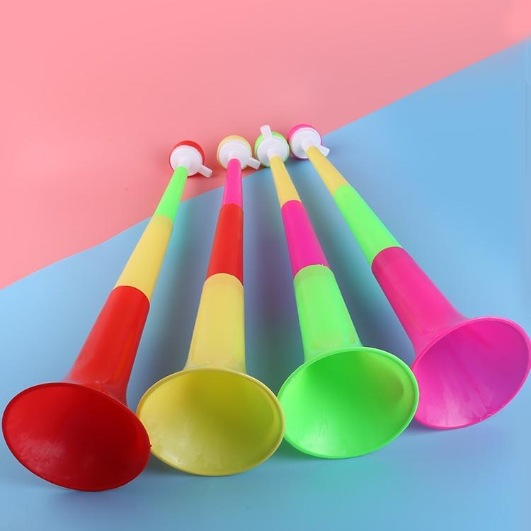 球迷喇叭小孩可吹三节大号伸缩喇叭儿童活动加油助威道具