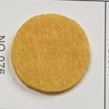 彩色背胶毛毡布幼儿园墙壁装修不织布照片墙贴作品展示板墙毯自粘 橙色3