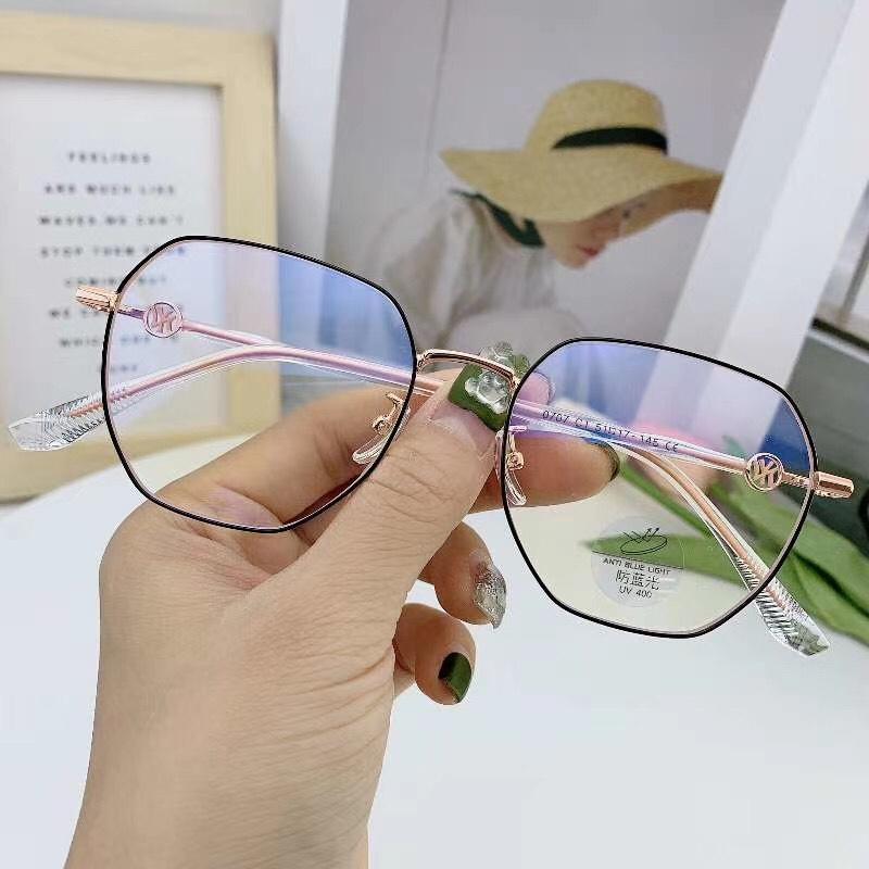0707 近视眼镜女有度数可配超轻黑框大框素颜神器透明眼睛镜框大脸显瘦