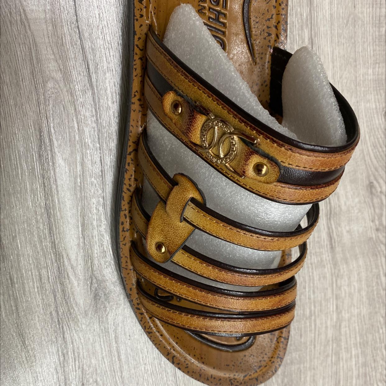 2021新款夏季男士凉鞋休闲沙滩鞋男外穿凉拖鞋男两用软底男式凉拖鞋34
