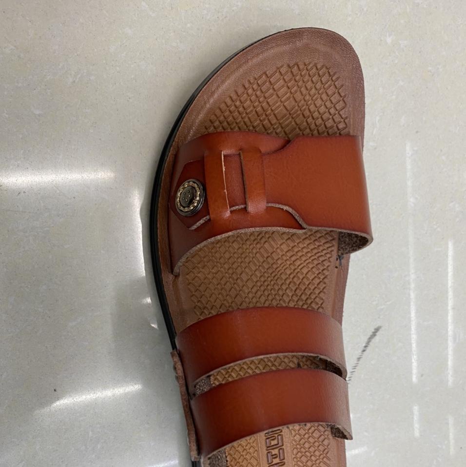 2021新款夏季男士凉鞋休闲沙滩鞋男外穿凉拖鞋男两用软底男式凉拖鞋 2