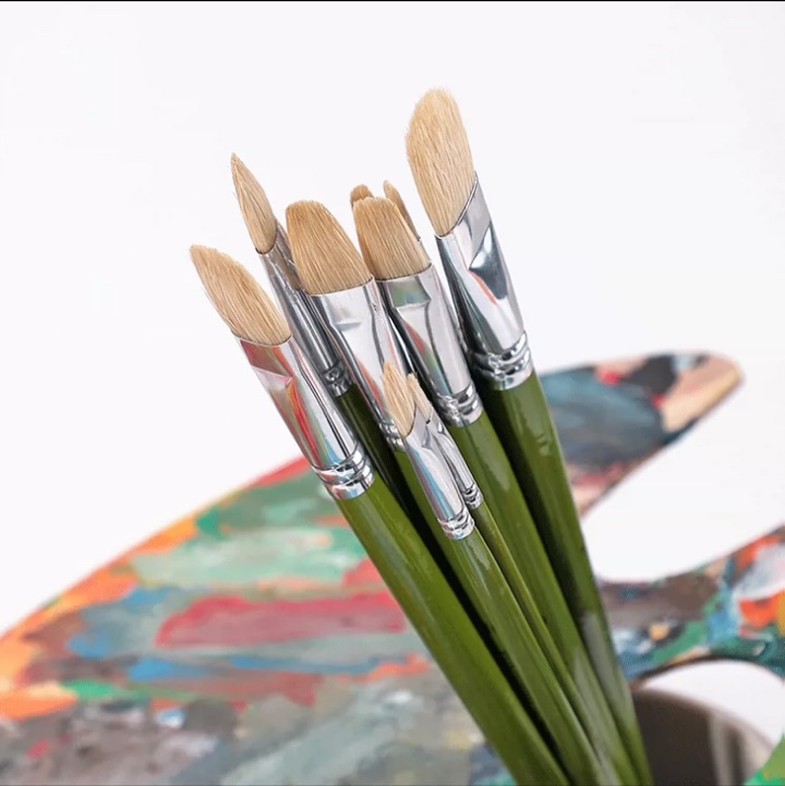 厂家直销水彩画笔美术专用排笔刷子单支工具