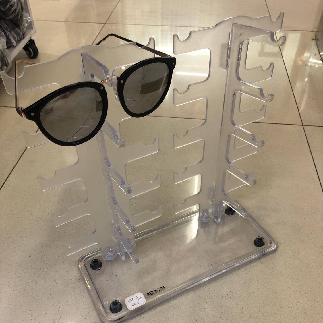 10付太阳镜光学眼镜展示架