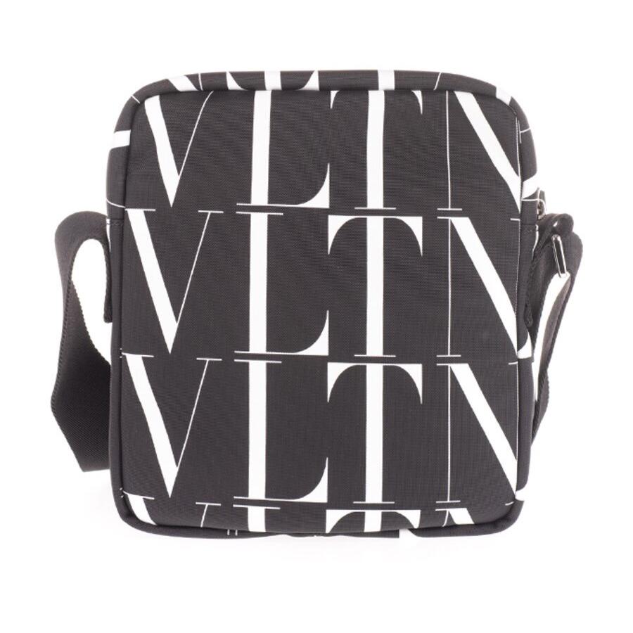 Valentino 男士 黑色VLTN印花腰包长:17cm、宽:11cm、高:30cm