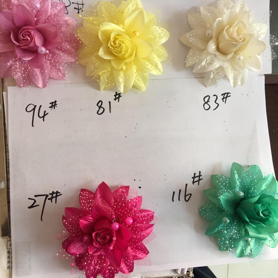 厂家直销头花 胸花 手腕花 配件花 表演花 花片SH004610146