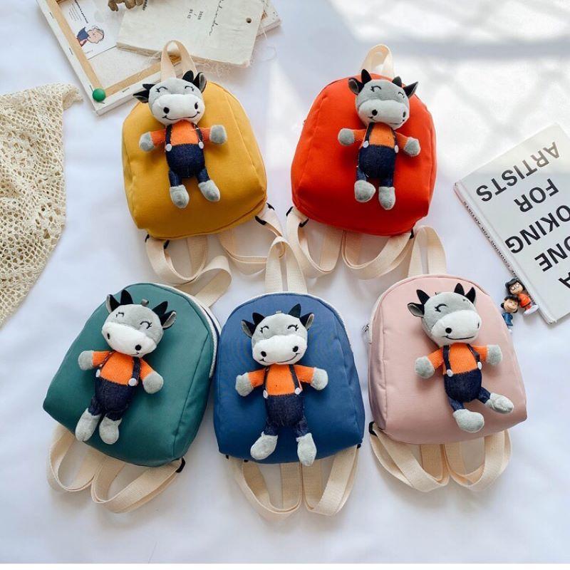儿童卡通毛绒小兔子韩版挂件小背包幼儿园女童可爱双肩背包潮新款27
