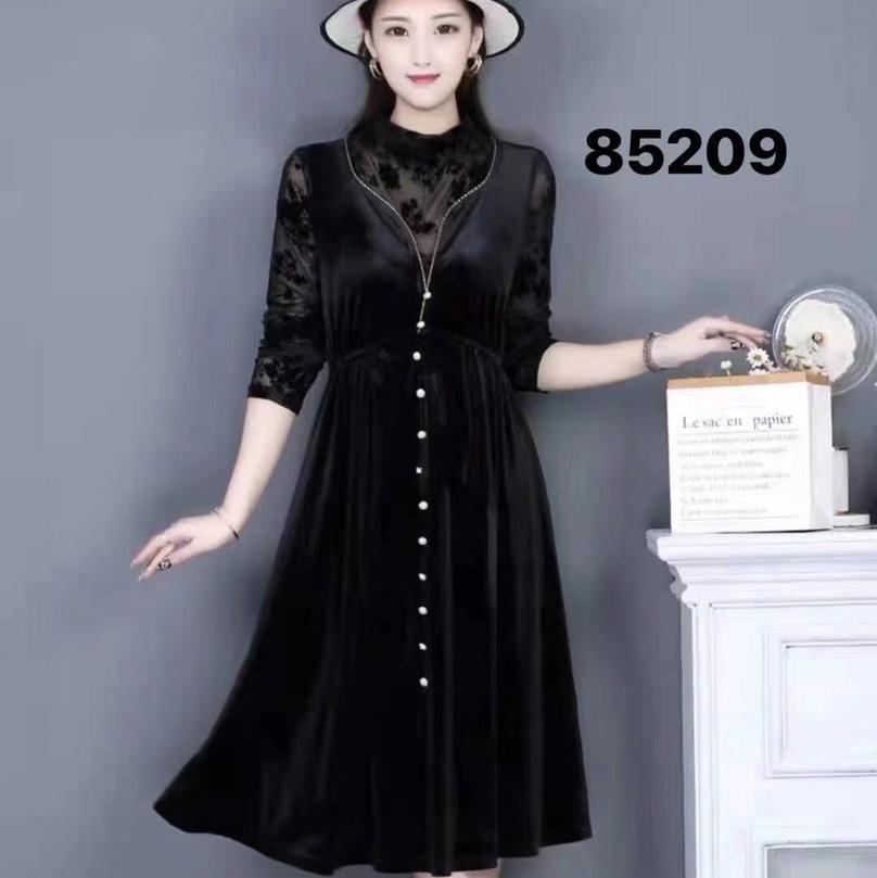 新款时尚潮流休闲舒适气质优雅连衣裙