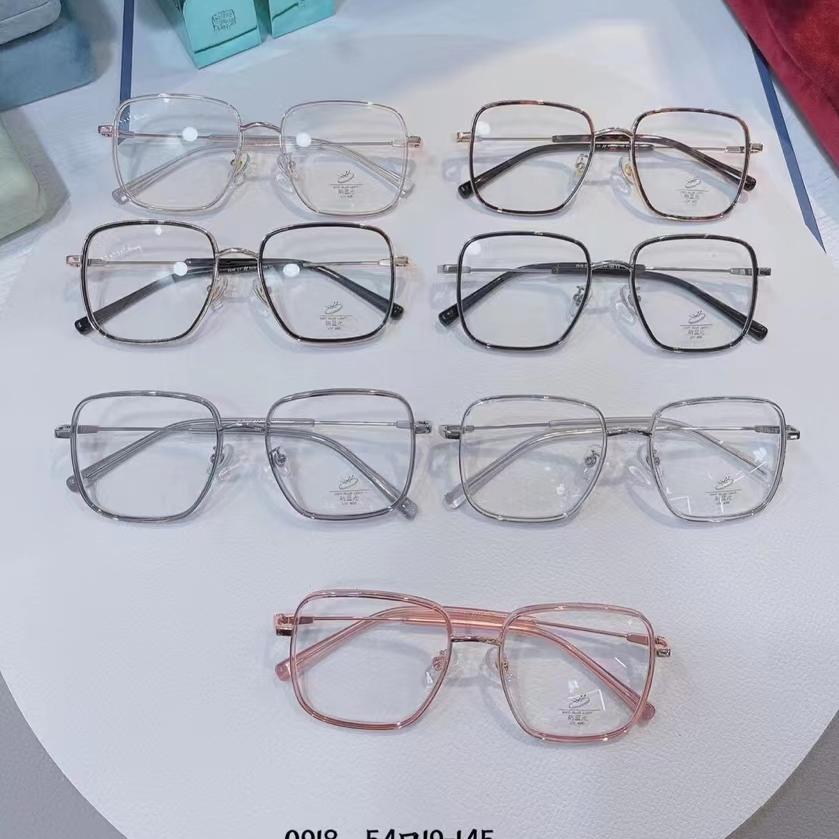 金胶全框套圈0918型号TR合金光学架,适合配近视镜太阳镜平光镜,男女通用,多色可选。