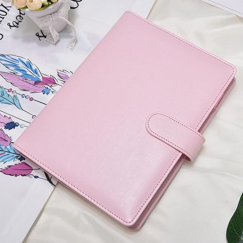 A5尺寸 马卡龙活页本  韩国笔记本 随身手账本 颜色随机