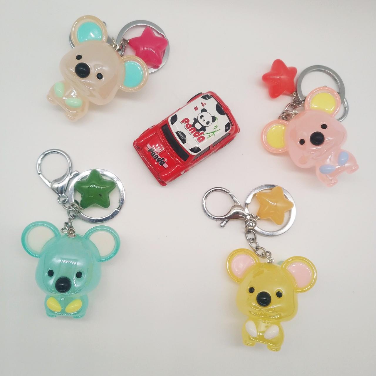 果冻老鼠钥匙扣挂件汽车钥匙扣挂件