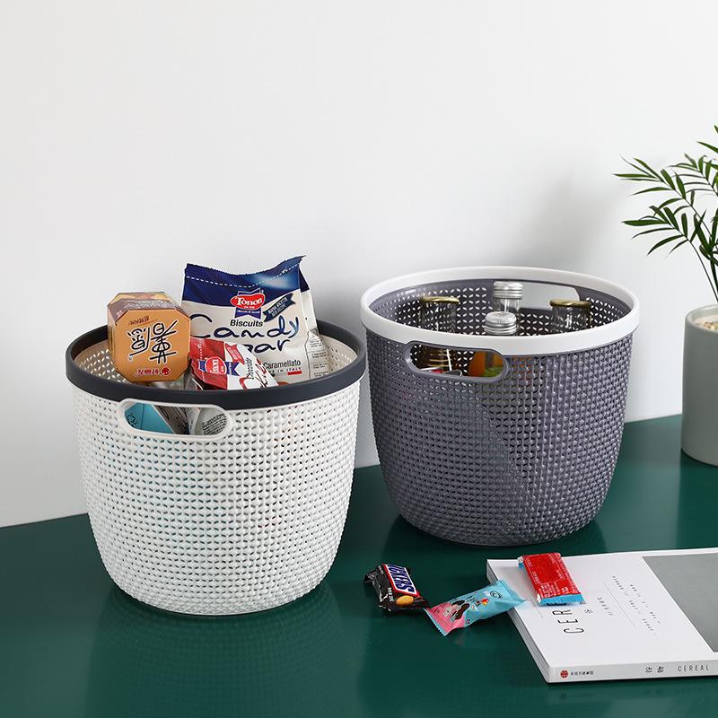 Z35-052 塑料收纳篮塑料桌面杂物筐收纳筐卫浴多功能整理置物篮