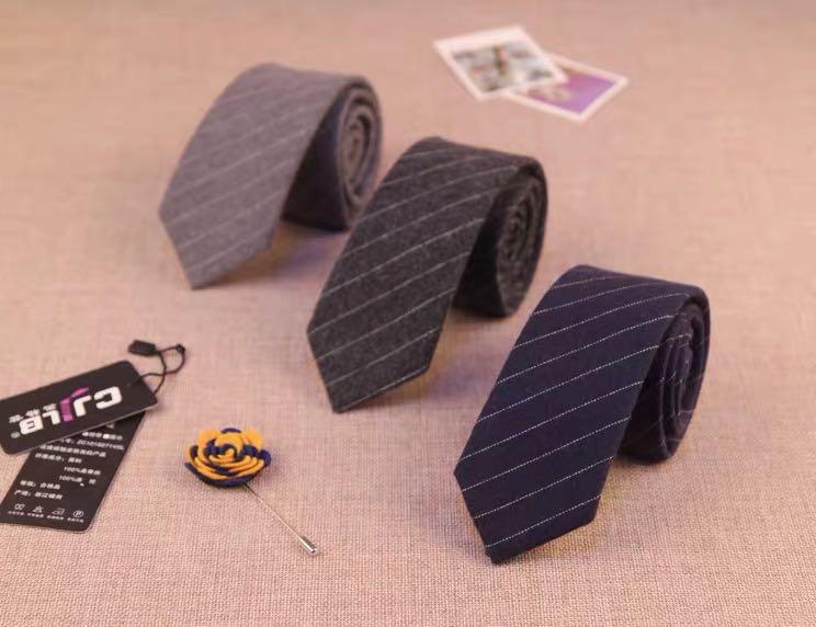 领带商务条纹纹休闲6CM百搭结婚礼