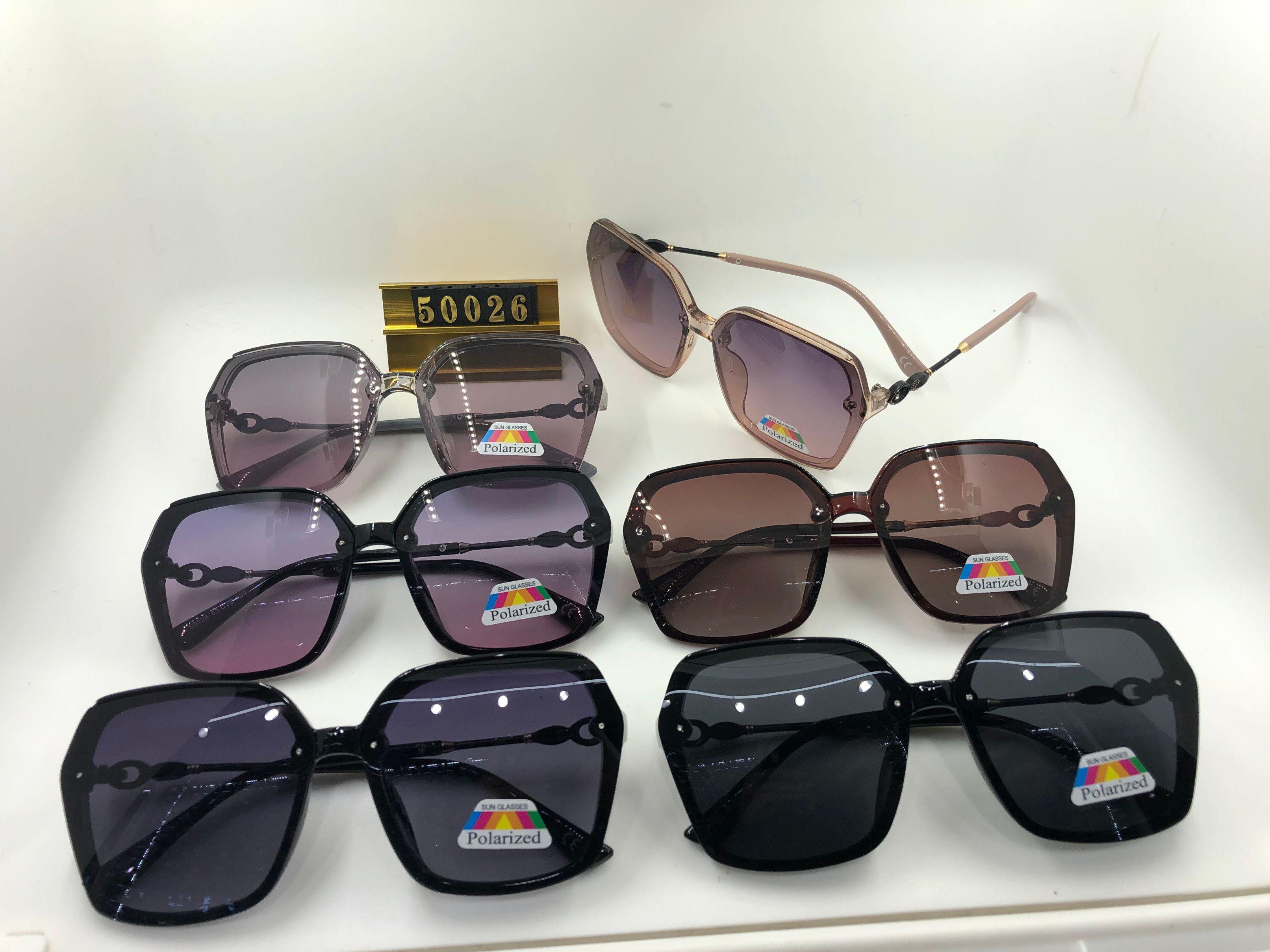 欧美范时尚大框偏光太阳镜 女 个性街拍墨镜驾驶开车眼镜潮款