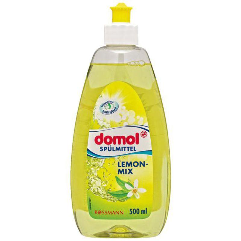 多默domol 柠檬芳香精华餐具果蔬洗洁精500ml厨房去污清洁不伤手