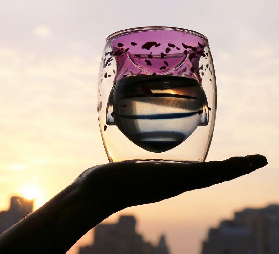 义乌好货 创意动物双层塑料杯300ml