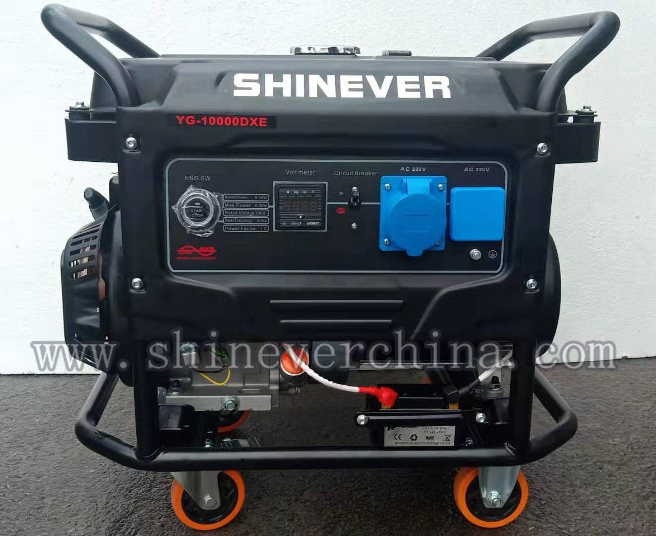 厂家直销新款汽油发电机油气两用发电机8KW/10KVA