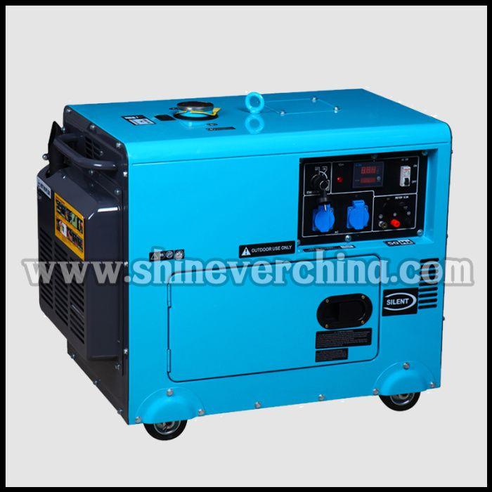 5KW/6KW静音柴油发电机 高品质低油耗 厂家直销