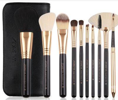 10支尼龙毛化妆套刷定做高档化妆工具