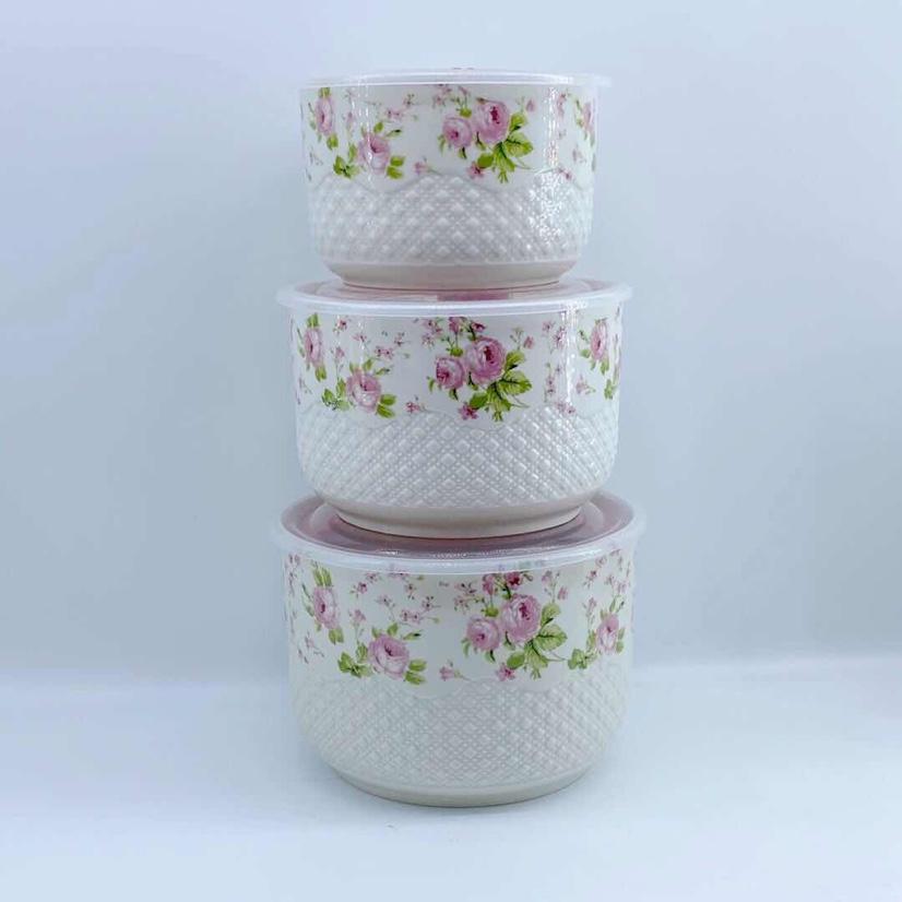 L027-C陶瓷浮雕烤花储蓄罐,,每箱12套