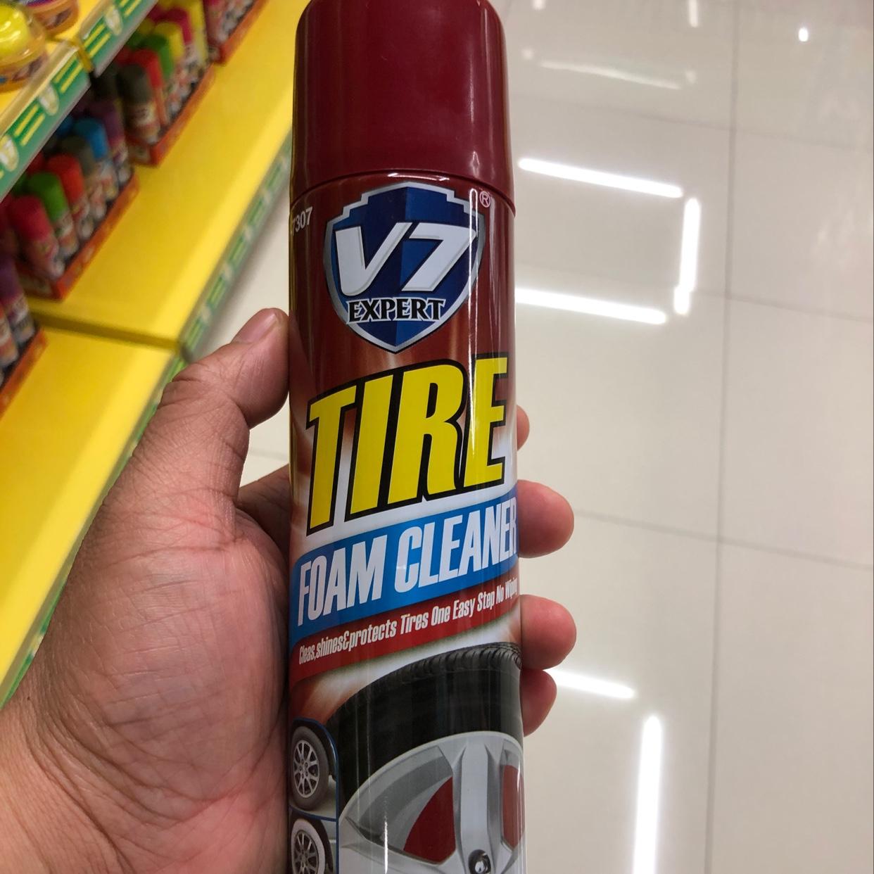 V7轮胎上光清洁剂