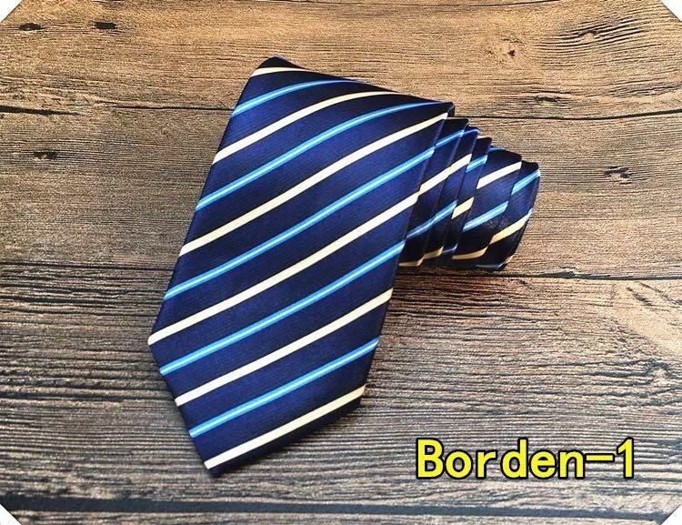 博登印花领带