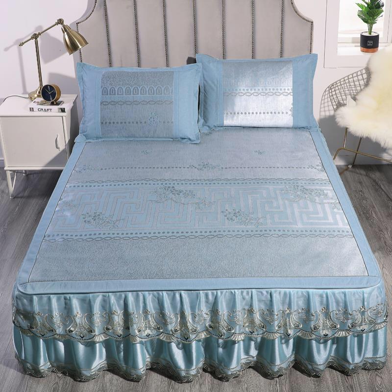 床裙款提花冰丝席