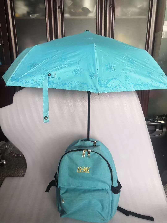 2020年新开发的雨伞双肩背包商务旅行带娃的好背包