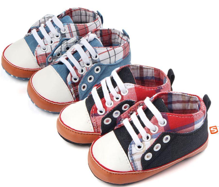 外贸批发春秋新款婴儿鞋 软底帆布鞋婴儿学步鞋