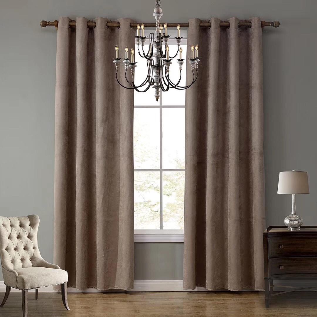 这个遮光布窗帘遮光效果很好,而且耐看好洗