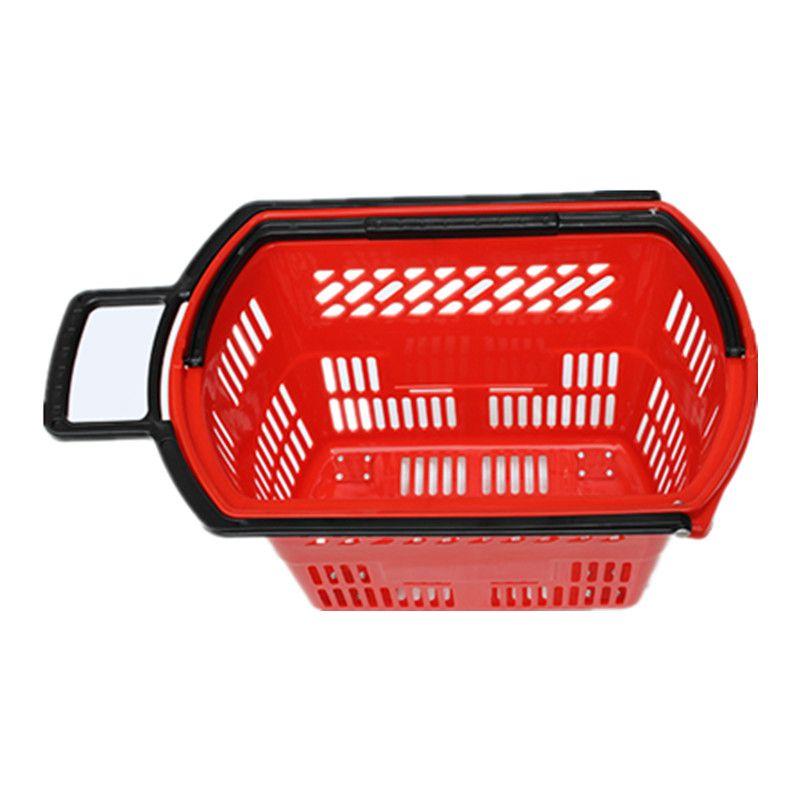 超市购物篮 超市购物筐 手提篮 拉杆购物篮 购物篮 塑料篮