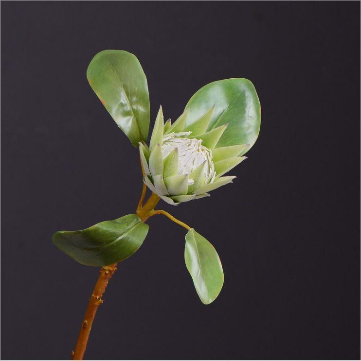 兰瑾热带花卉仿真小帝王花北欧简约客厅家居装饰仿真花批发餐桌花