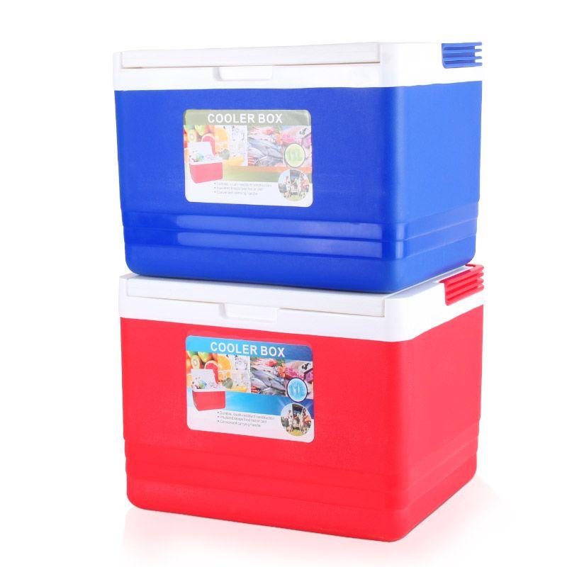 义乌好货 9005冷热食品保温箱冷藏箱烧烤保鲜送餐外卖钓鱼柜冰桶
