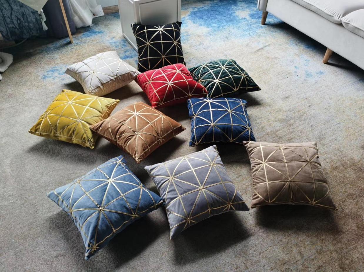 沙发抱枕靠垫客厅现代北欧风格ins简约高档棉麻抱枕套样板间靠枕